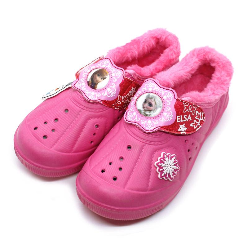 겨울왕국 EVA 방한실내화 캐릭터실내화 -핑크