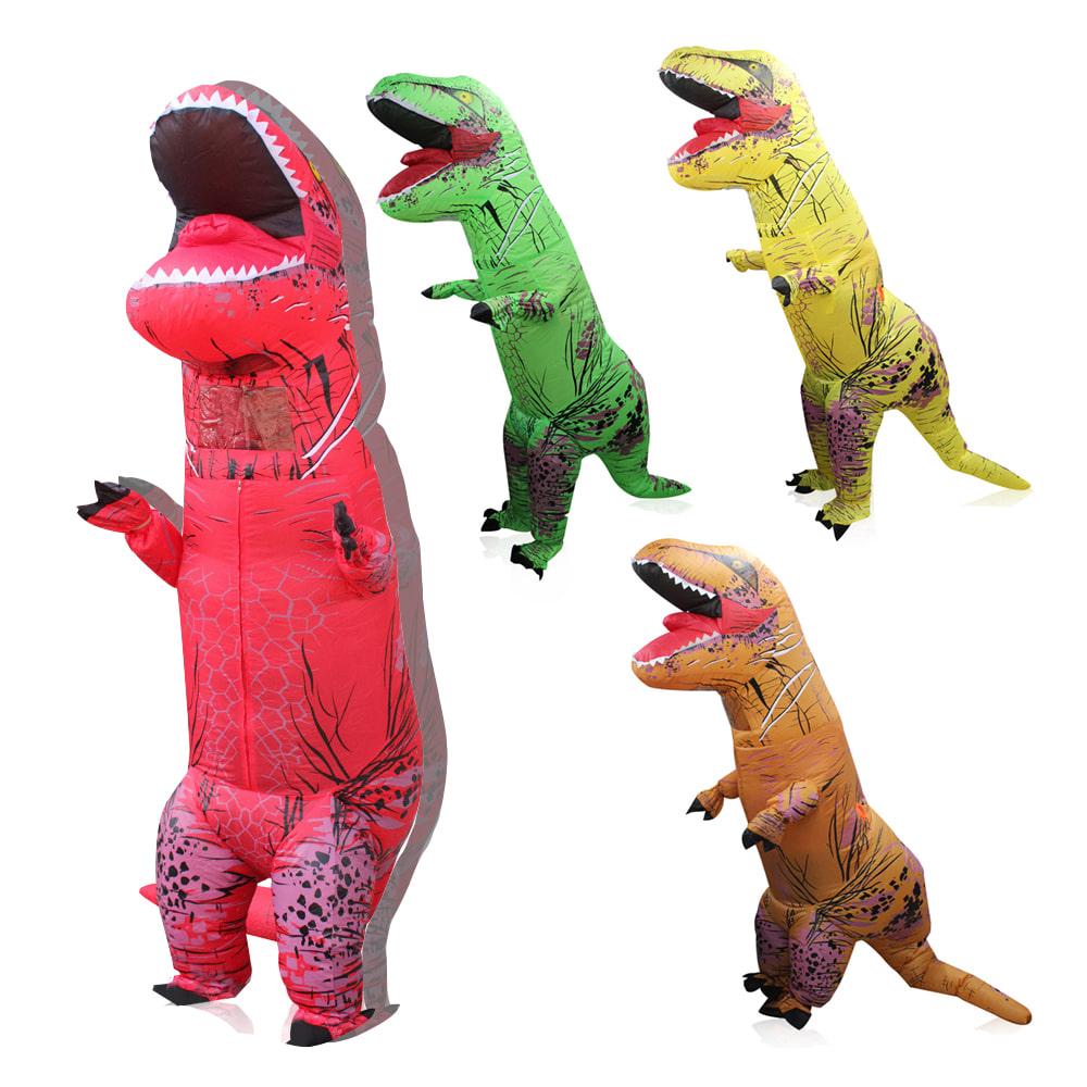 (당일발송)미우새 공룡옷 에어슈트 할로윈 분장 인형