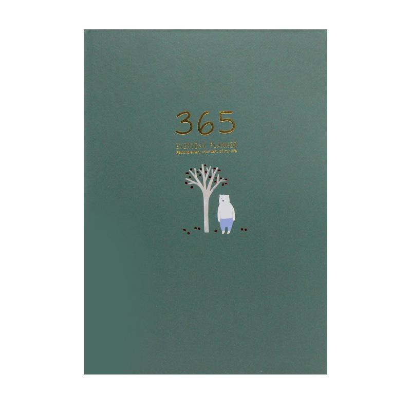 32K 베어드림 365만년다이어리(128매)-그린