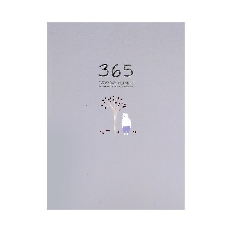 32K 베어드림 365만년다이어리(128매)-그레이