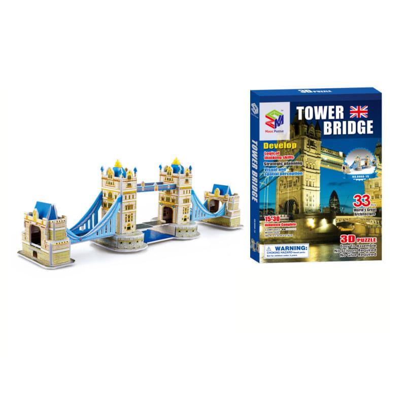 (초급) 런던타워 브릿지(33pcs) 세계 유명 건축물