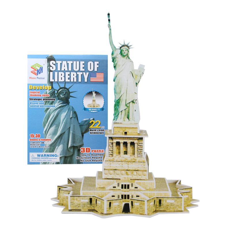 (초급) 자유의 여신상(22pcs)세계 유명 건축물 시리즈