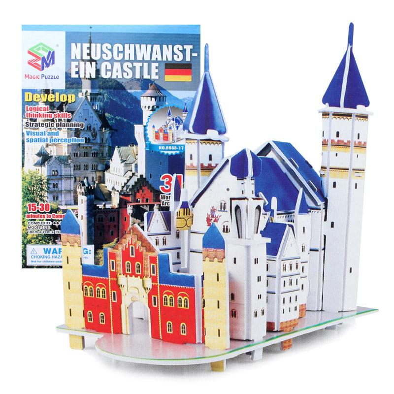 (초급) 노이슈반슈타인 성(31pcs) 세계 유명 건축물