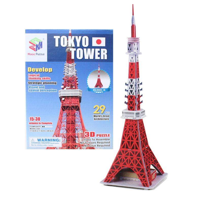 (초급) 도쿄타워(29pcs) 세계 유명 건축물 시리즈