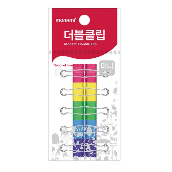 모나미/더블크립(걸이형/소/10개)