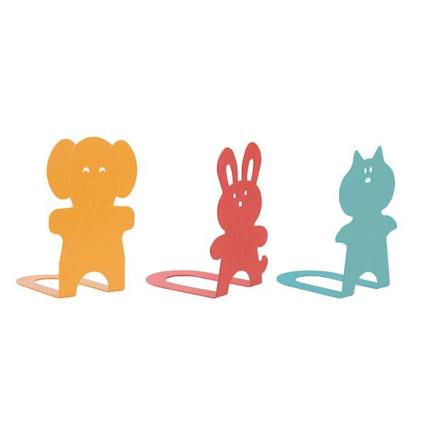 캐릭터 북앤드 동물형 1조(2개입)